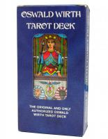 Tarot coleccion Oswald Wirth Tarot Deck (Printed in Switzerland) (3ª Edicion)  (1982) (EN) (AGM) (USG) 0618