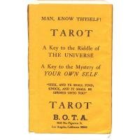 Tarot coleccion Man, Know Thyself Tarot 1ª edicion (B.O.T.A...