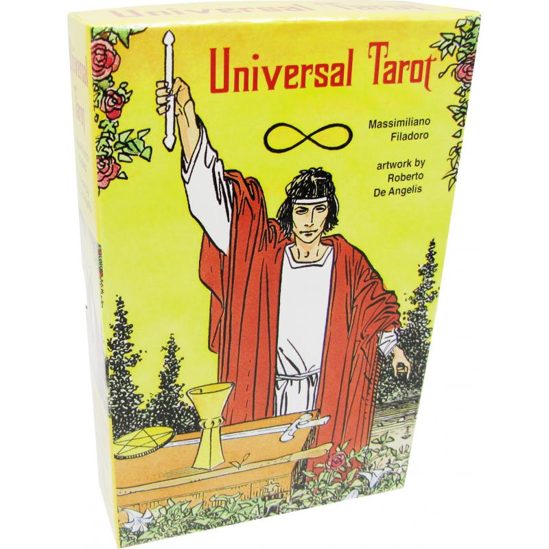 Tarot Universal - Massimiliano Filadoro and R. de Angelis (Ed Revisada) (Set) (EN) (SCA) (0316)