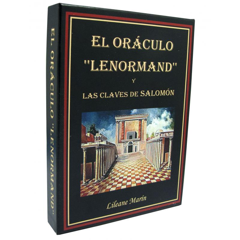 Oraculo coleccion El Oraculo Lenormand y las claves de Salomon - Lilleane Marin (CD + 36 Cartas) (04/18)
