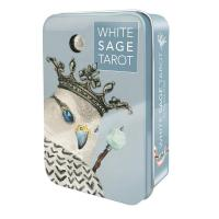 Tarot  White Sage Tin (Theresa Hutch) (USG) 01/19(En)